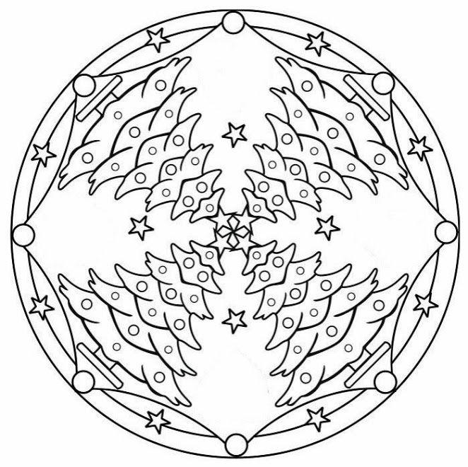 Pin de Anamaria en christmas   Pinterest   Mandalas, Natal y Navidad