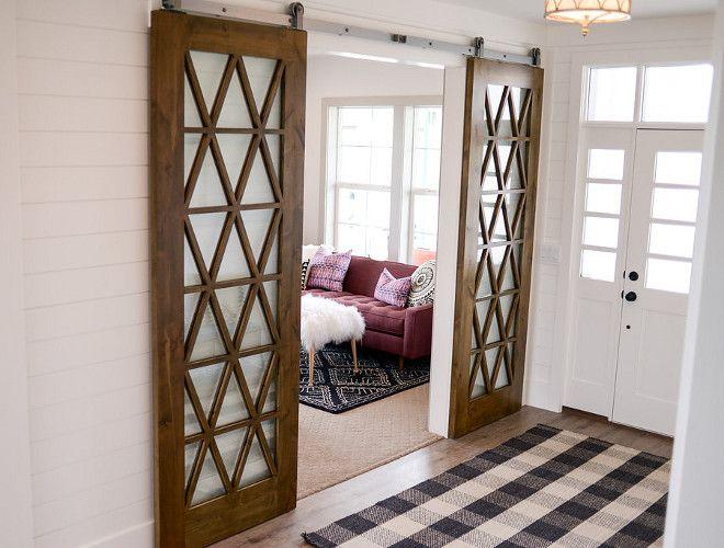 Mirrored Barn Doors Mirrored Barn Door Ideas Mirrored Barn Doors And Shiplap Walls Mir Interior Doors For Sale French Doors Interior Sliding Doors Interior