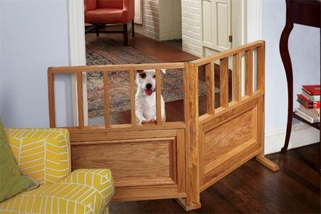 Diy Dog Gates Teeny Will Destroy Any Room She Has Access To And I
