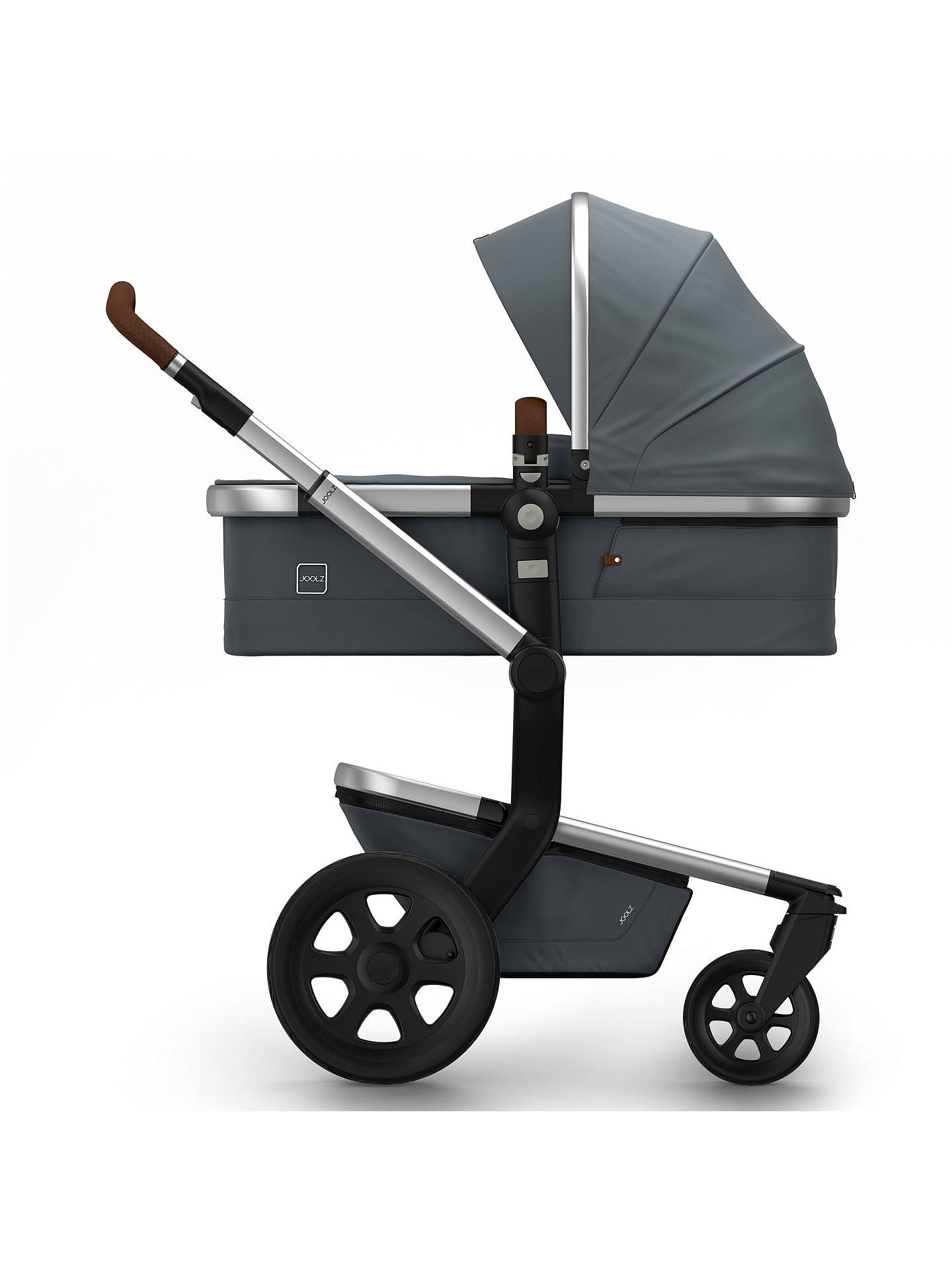 Joolz Day2 Earth Pushchair with Carrycot, Hippo Grey