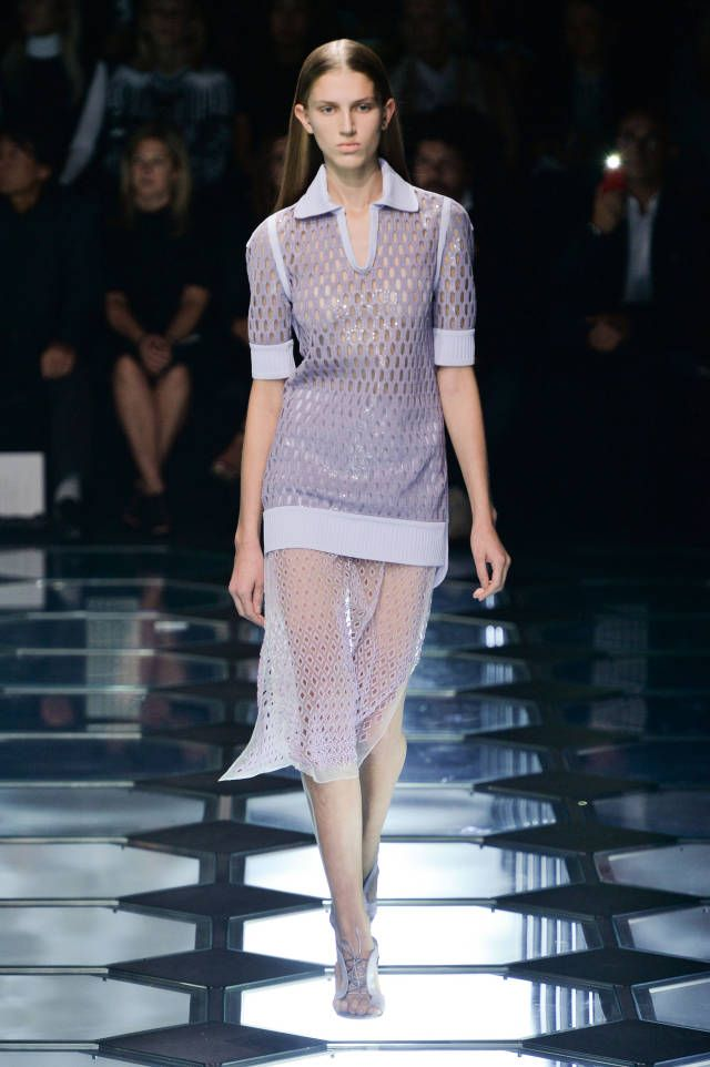 Balenciaga Spring 2015. See the best looks from #PFW here.