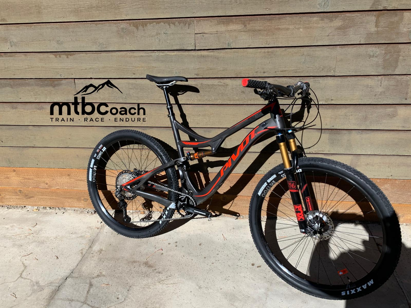 2018 Pivot Mach 429 Sl Mountain Bike Xl 29 Carbon Shimano Xtr 12s