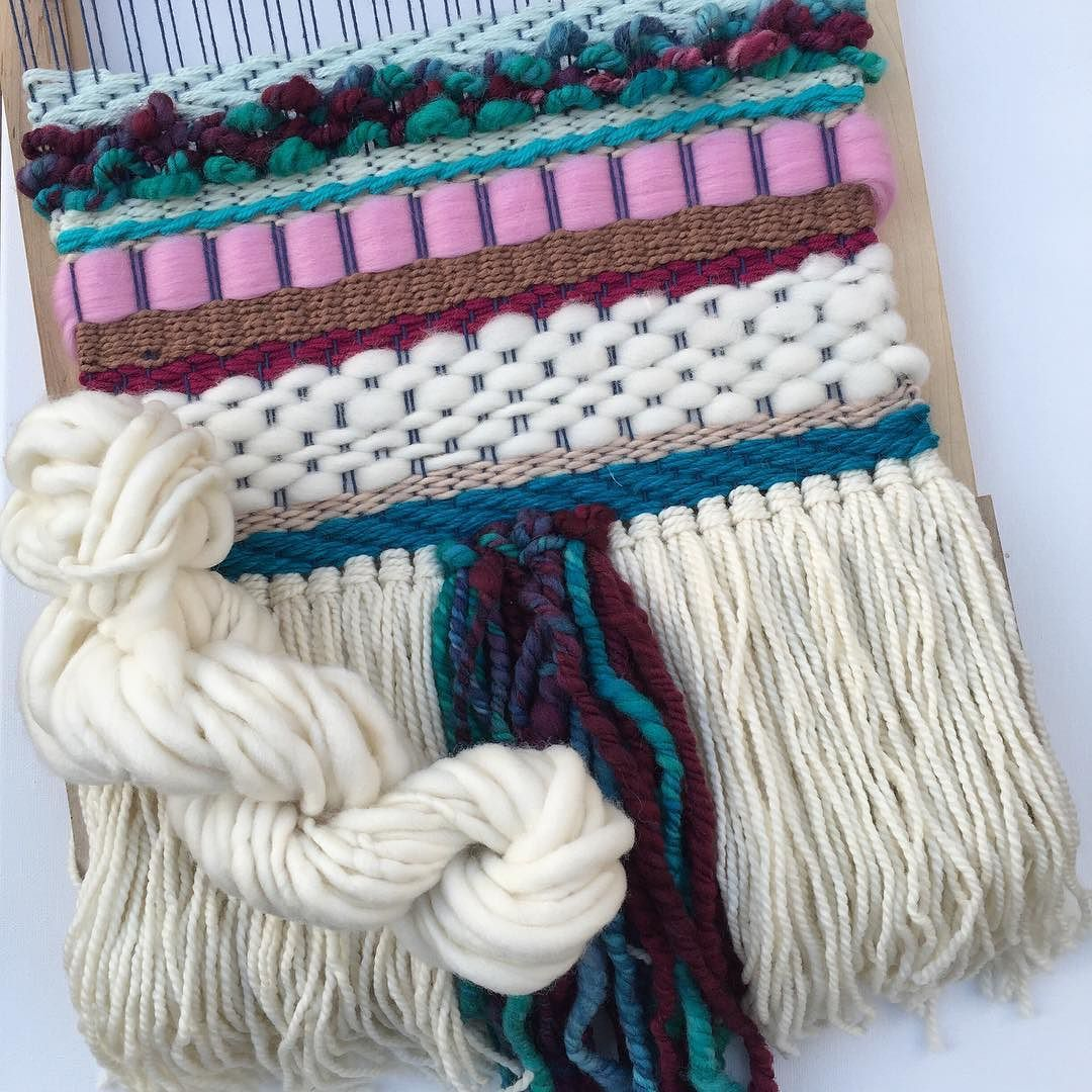 This is the current piece that I m working on for  patchworkshow with yarn  from my  fibreshare package from  emaleigh wanderer from the giveaway wi… 4d3b3dfa4