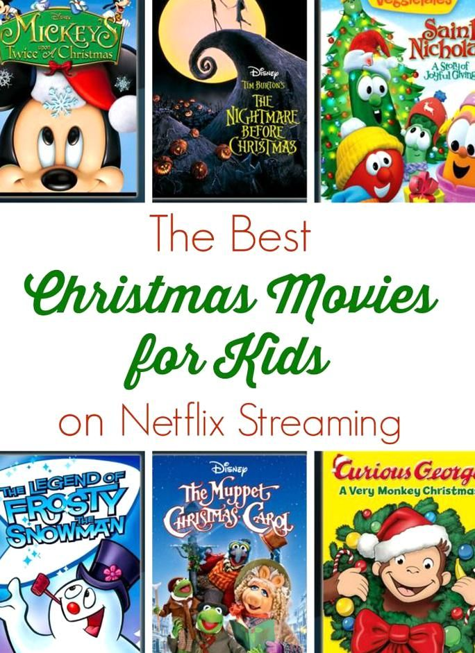 The Best Christmas Movies for Kids on Netflix Streaming