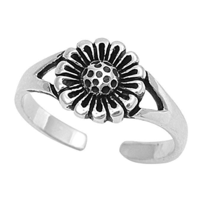 USA Seller Toe Ring Sterling Silver 925 Best Gift Adjustable Jewelry