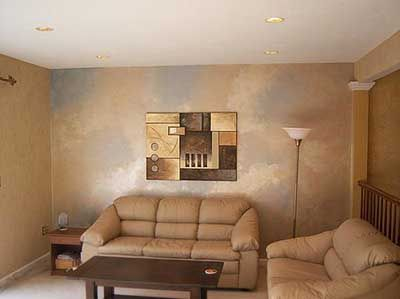 Decoraci n de interiores con pintura metalizada decoration - Tipos de pinturas para interiores ...