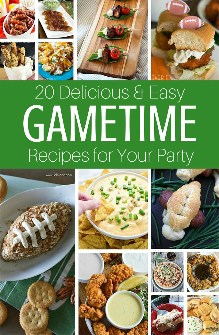 20 Must Have Gametime Appetizers For The Big Game On Sunday Food