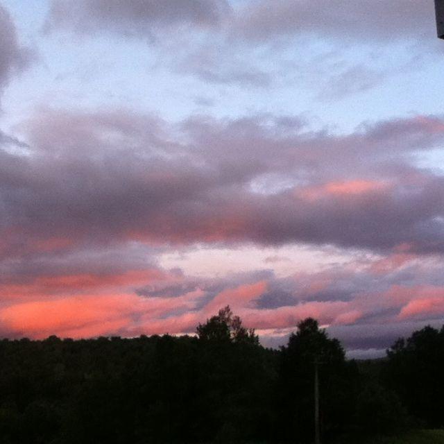 Vermont sky...
