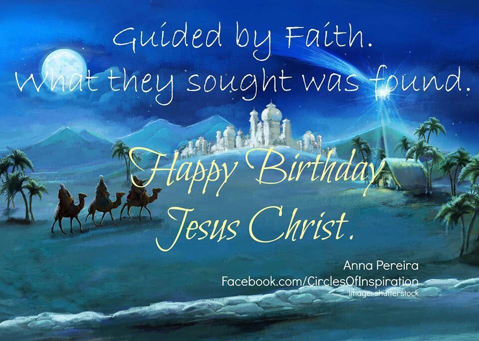 Happy Birthday Jesus Happy birthday, Jesus