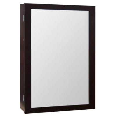 Glacier Bay 15-1/4 in. W x 25-3/4 in. H Framed Surface-Mount ...