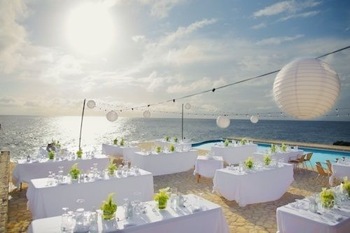 Beach Wedding Reception Decorations Wedding Stuff Pinterest