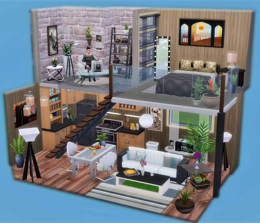 Sims Builds Sims Builds In 2020 Sims 4 House Design Sims House Sims 4 Houses