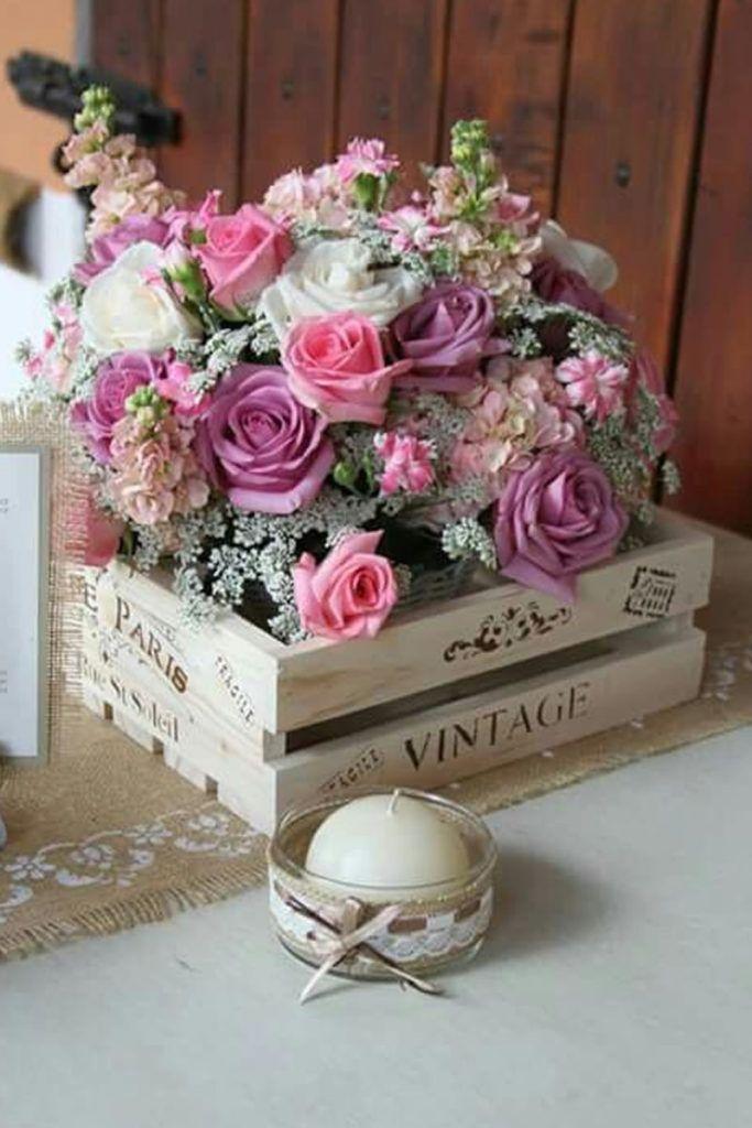 Ideas para usar pallets y cajas de madera en la decoración de tu boda