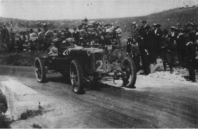Targa Florio 1922 Alfa Romeo Rl 28 Driver Augusto Tarabusi