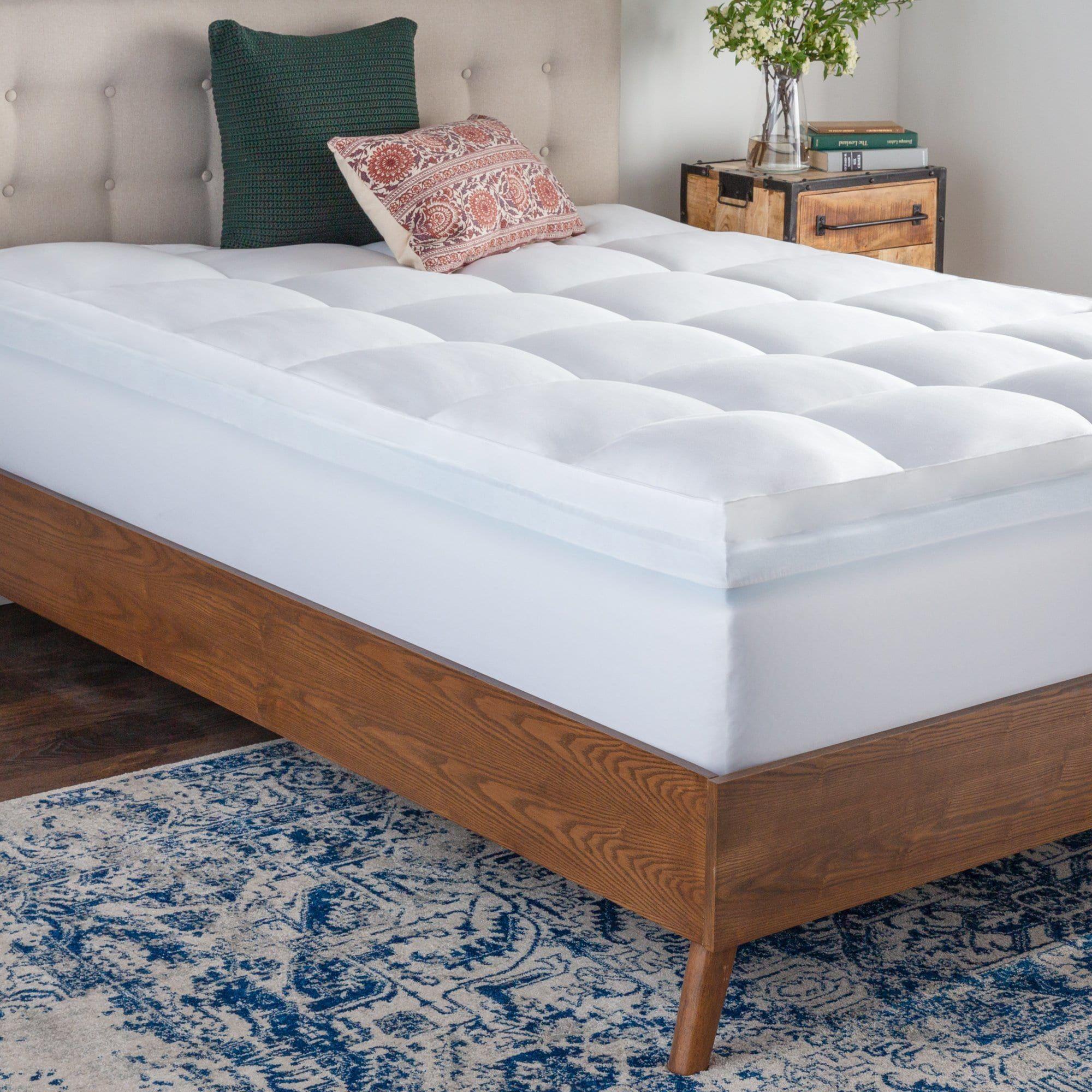 Brookside Pillow Top and 2inch Gel Memory Foam Mattress
