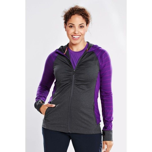 Women's plus size active jacket