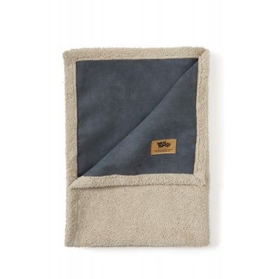 Faux Suede And Fleece Dog Blanket L West Paw Big Sky