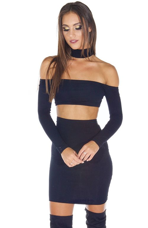 32be9826 Call On You Dress- Black | Babyboo Fashion | JC night dresses ...