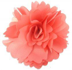 Rosette Pink Hair Clip