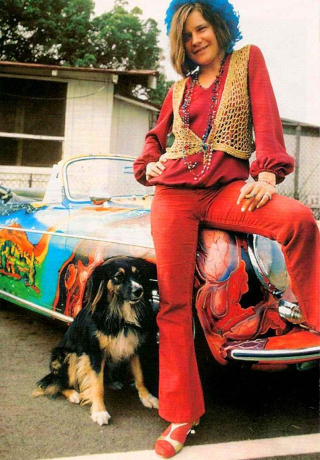 Color Pictures Of Janis Joplin