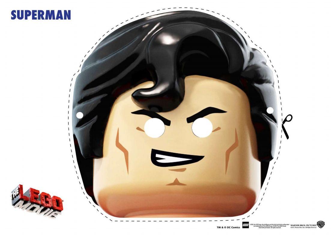 Mascaras Lego para imprimir | Cumple Lego | Pinterest | Legos ...