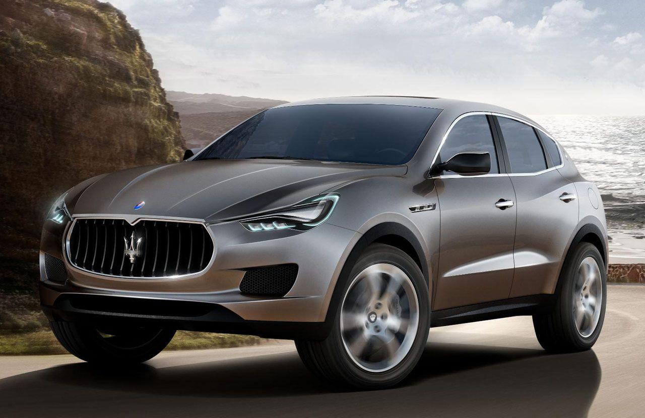 Maserati Kubang, a Luxury SUV by Maserati. Is it me or is every luxury carmaker making an SUV?