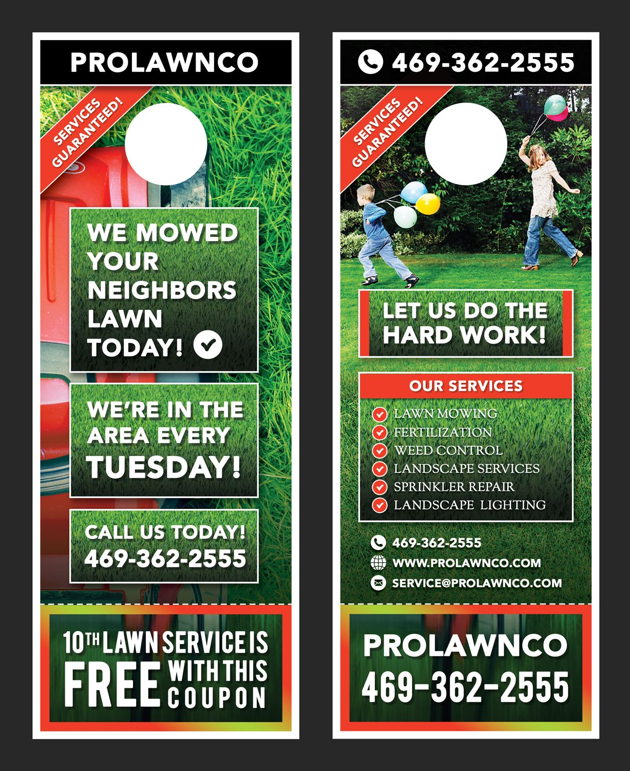 46 bold flyer designs lawn care flyer design project for