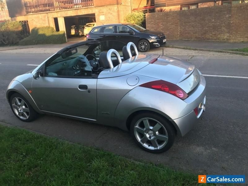 Ford Streetka 1 6 Convertible 67000 Miles Ford Streetka Forsale