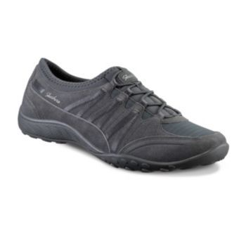 1ee09a912f27 Skechers Relaxed Fit Breathe Easy Money Bags Women s Athletic Shoes in  Charcoal