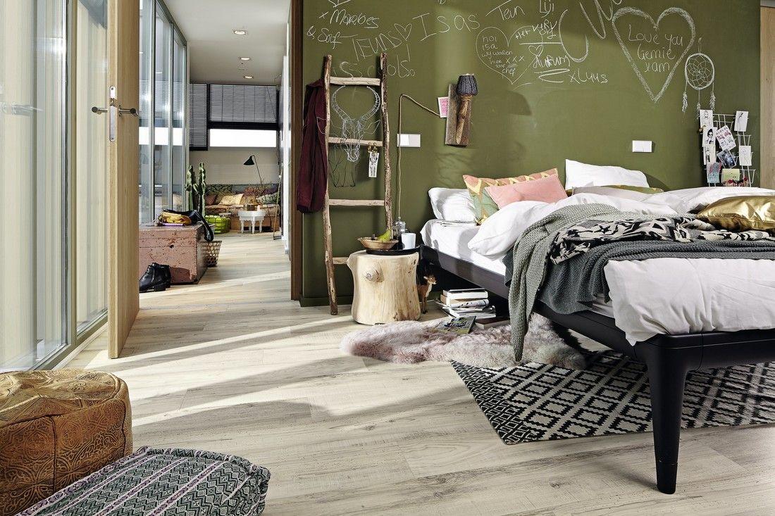 designboden classic | dd 75 | dd 75 s | white island 6961 | dekor, Schlafzimmer entwurf