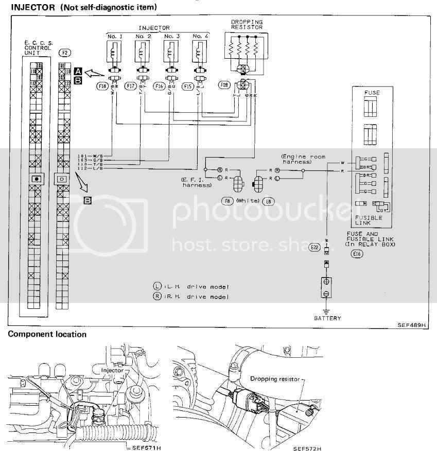 Nissan 200sx S13 Ca18det Ecu Pinouts In, Ca18det Wiring Diagram