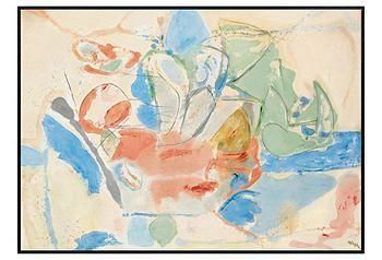 Widely considered one of the United States' most important female artists, Helen Frankenthaler helped to popularize the Abstract Expressionist style.