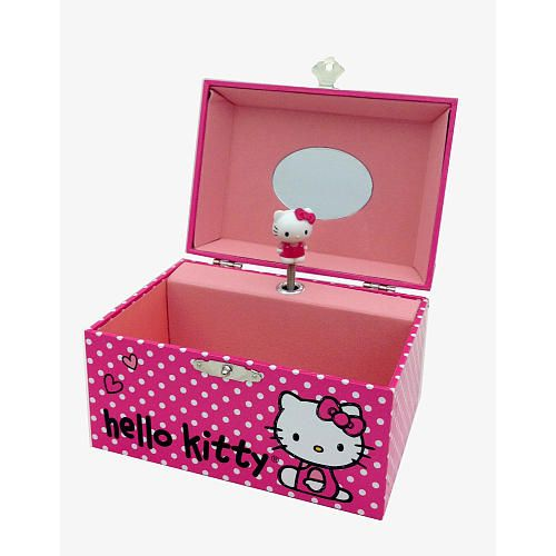 Hello Kitty Musical Jewelry Box Fashion Accessory Bazaar Toys R