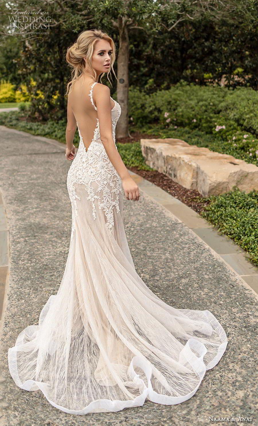 Naama Anat Couture Wedding Dresses Fall 2019 Wedding Inspirasi Fit And Flare Wedding Dress Wedding Dress Couture Fitted Wedding Dress [ 1485 x 900 Pixel ]