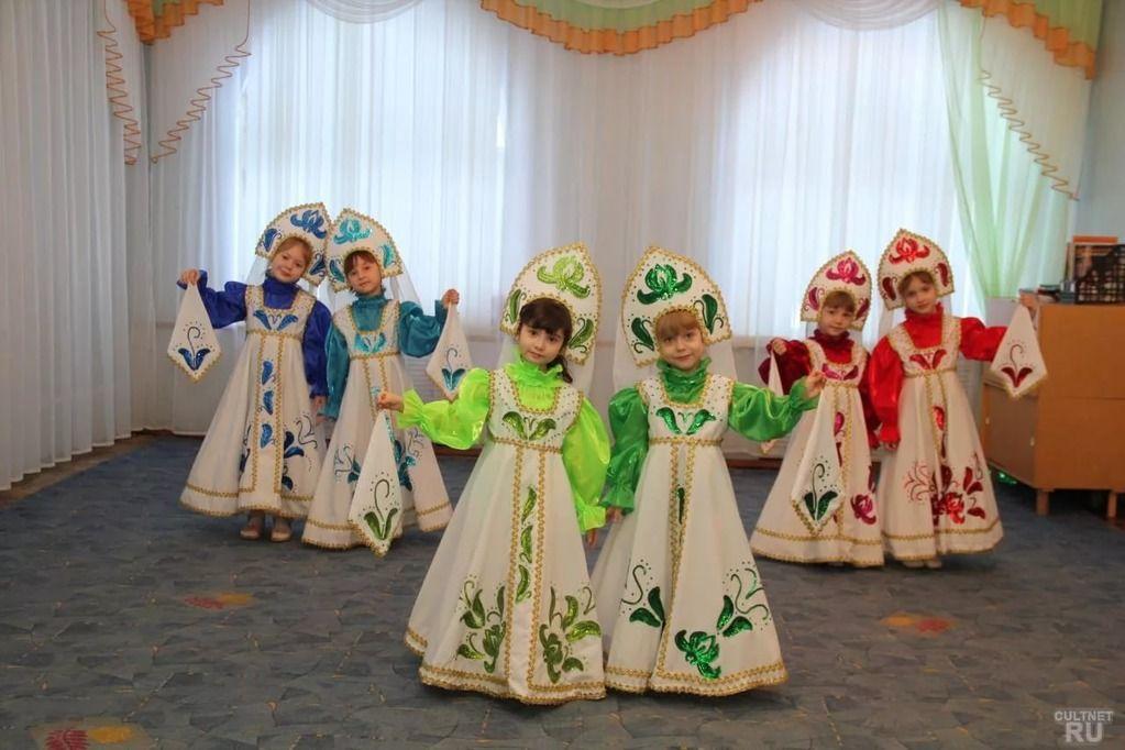оригинальные русские народные костюмы кадриль из ткани ...