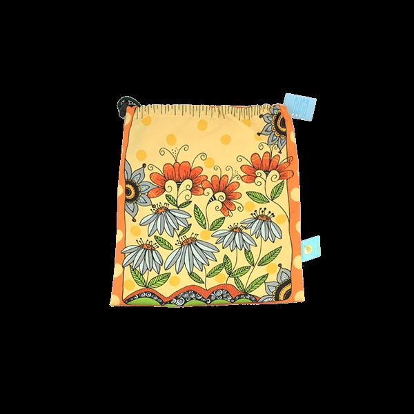 Bolsas temáticas. Estas hermosas bolsas son ideales para guardar el vestido de baño húmedo o los pañales de tela de tu bebe.