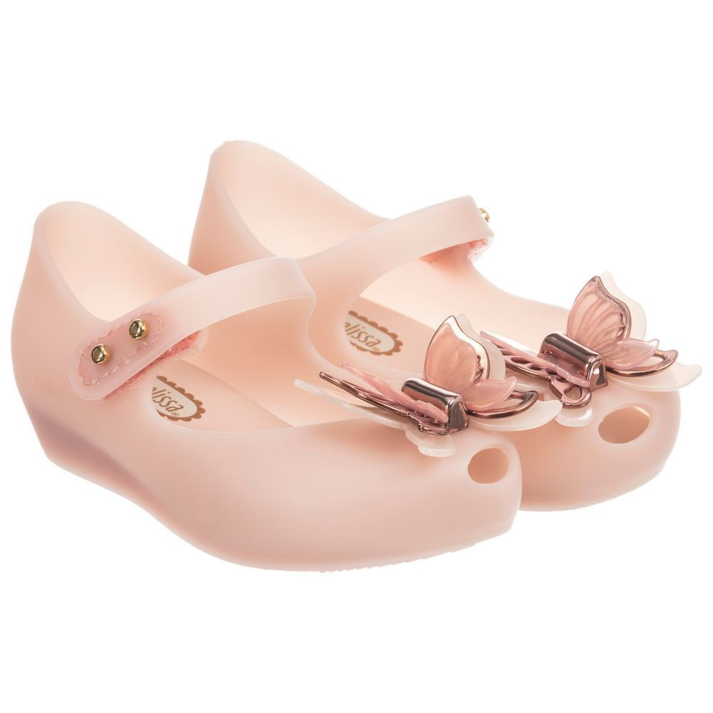 Girls Pink Jelly Shoes for Girl by Mini Melissa. Discover more beautiful  designer Shoes for kids online  WomenShoesWinter 78862b9f8