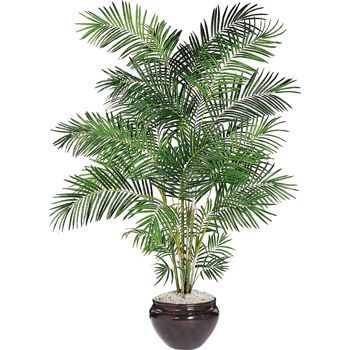 Potted Palm Costco Artificial Trees Decor Potted Palms 400 x 300