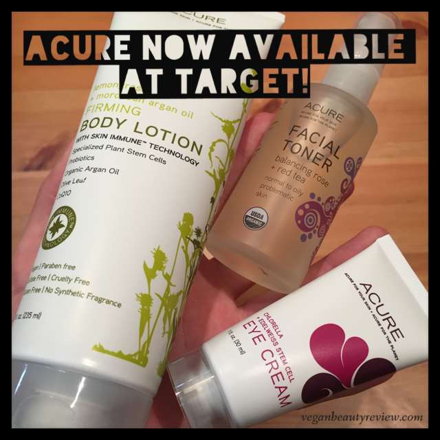 Acure Organics Now Available At Target