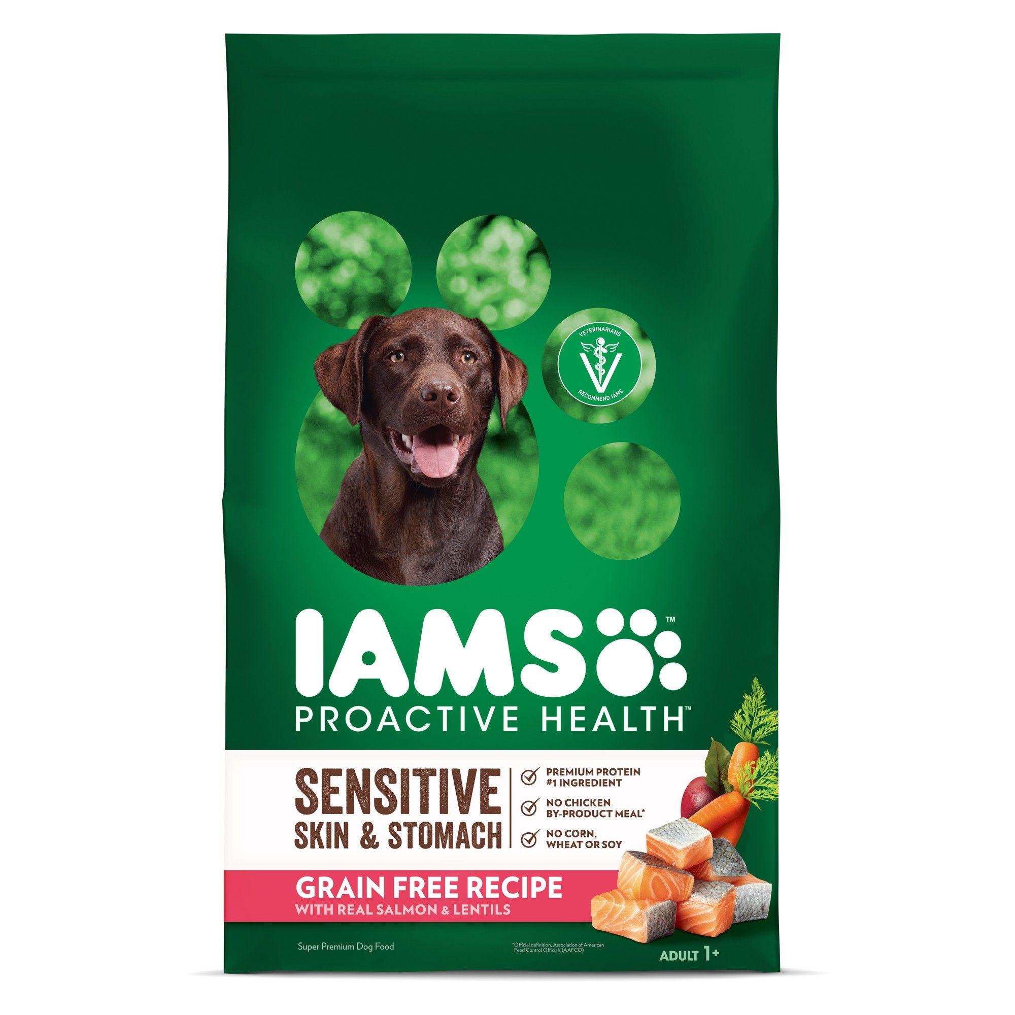 Iams Proactive Health Sensitive Skin Stomach Grain Free Salmon