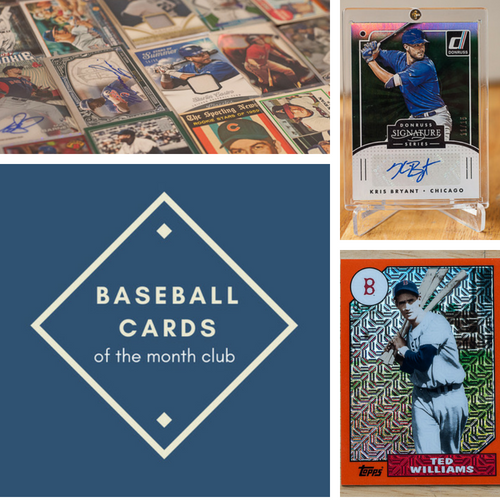 Baseball Cards Of The Month Club Subscription Card And Packs
