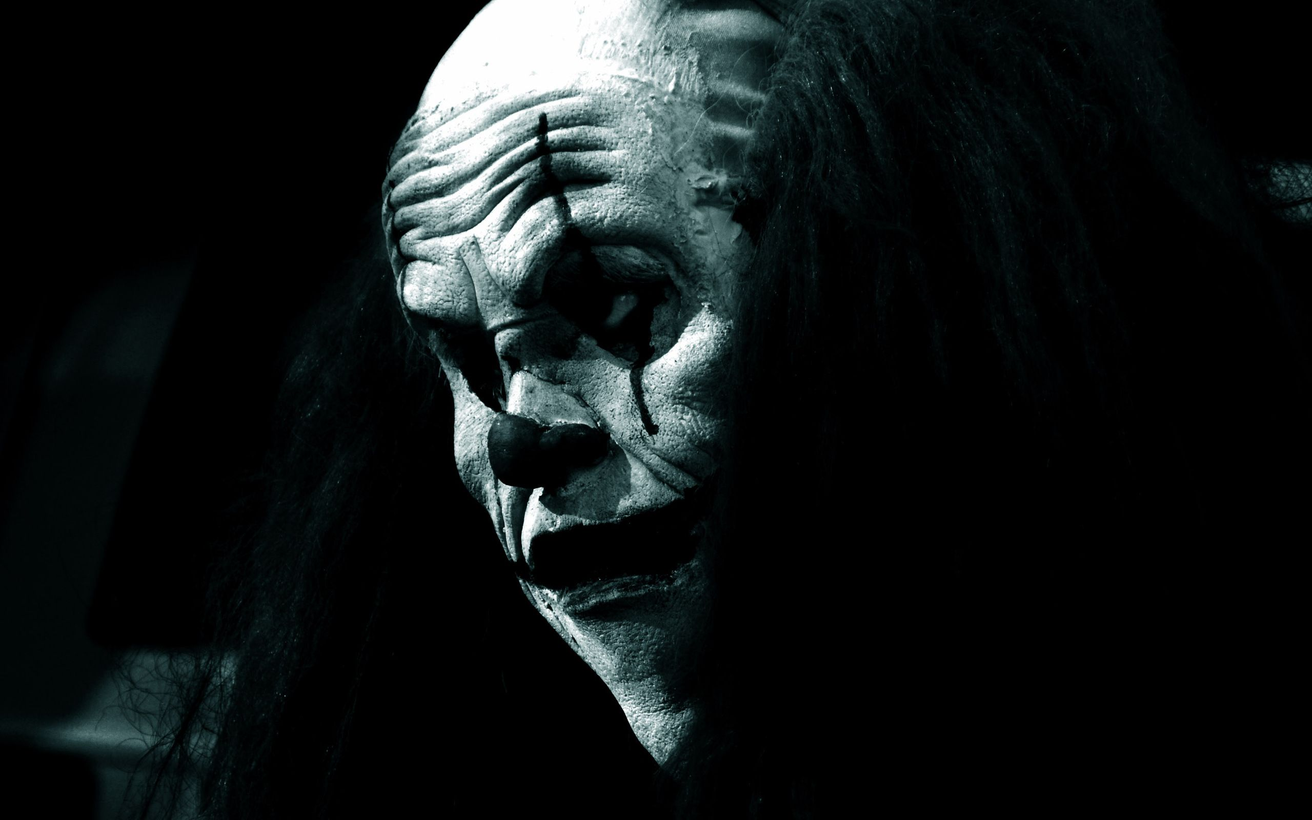 Scary Clown Wallpaper Scary clown wallpaper gothic