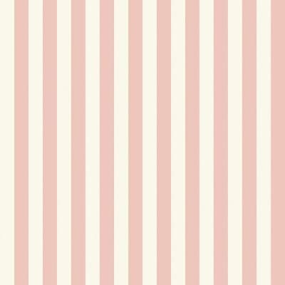The Wallpaper Company 56 sq. ft. Pink Pastel Slender Stripe Wallpaper-WC1283936 - The Home Depot