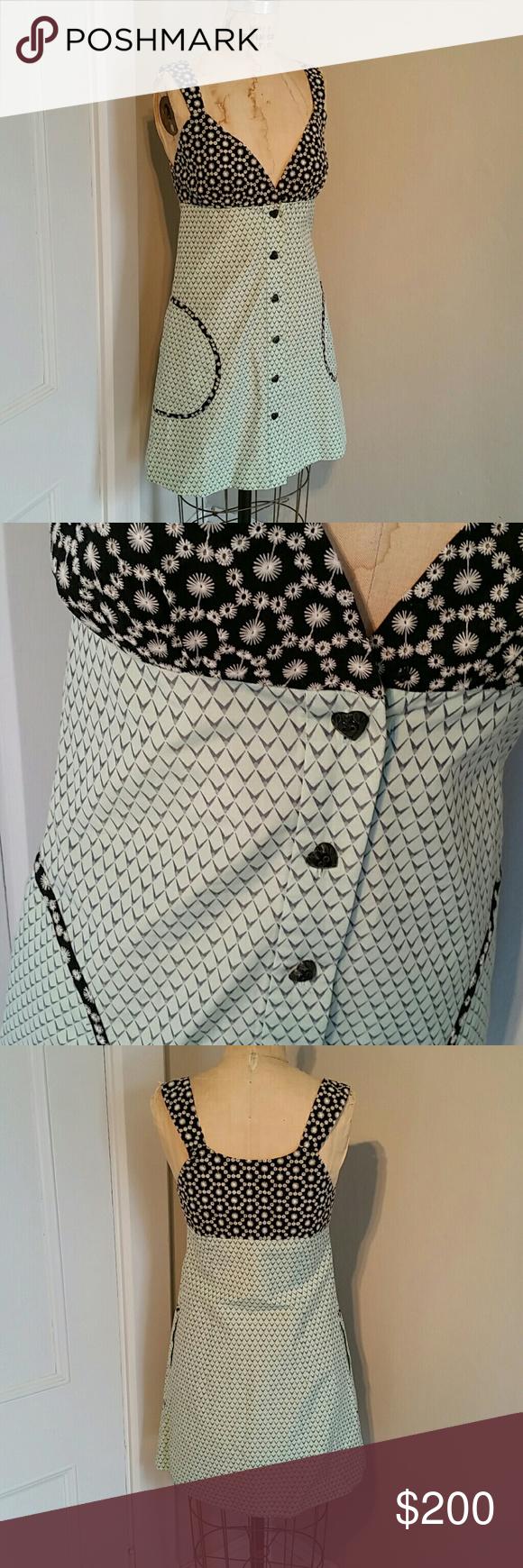Belly button piercing plus size  Annelore designer NYC unique button tank dress  Heart button Tank