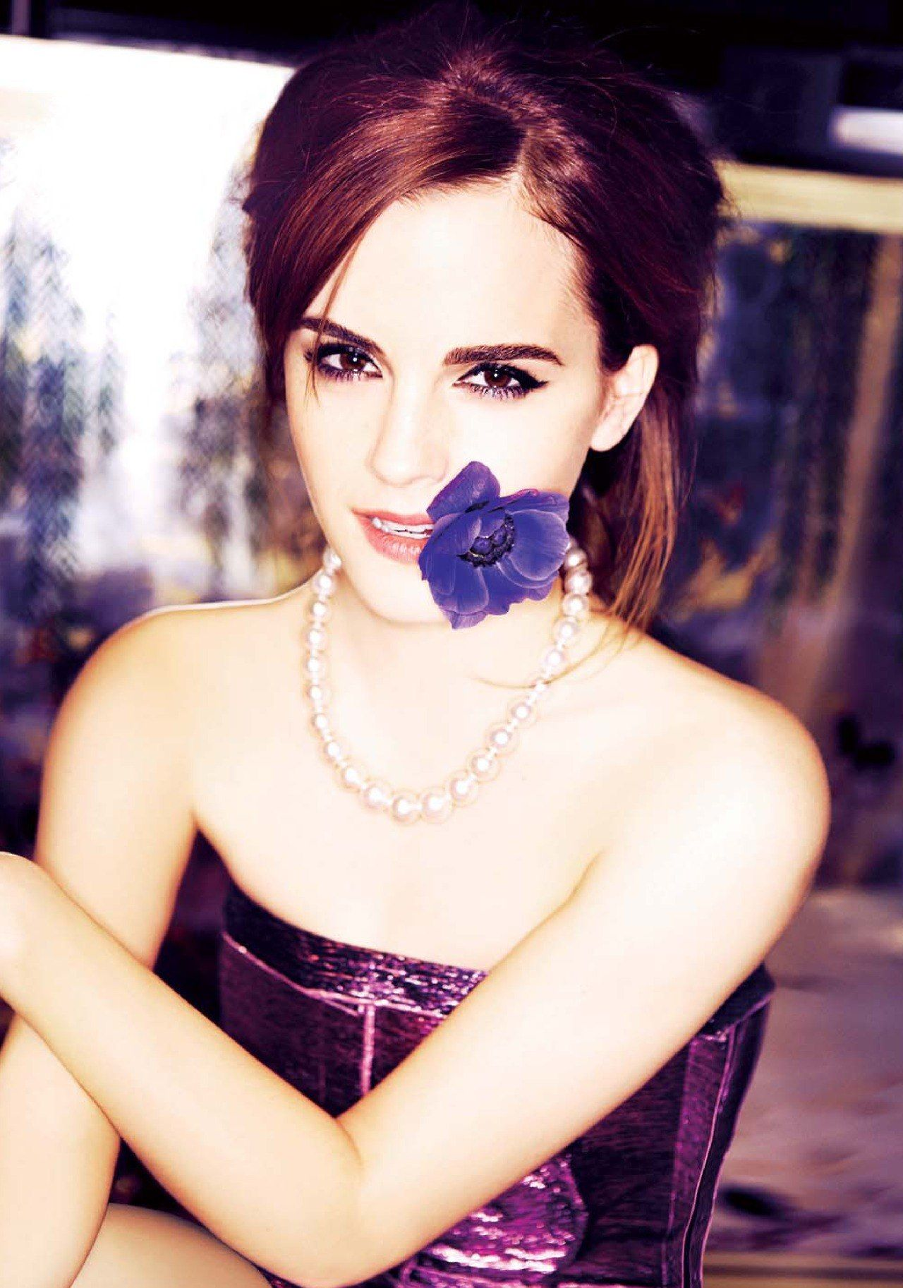 THE SUNDAY TIMES STYLE Emma Watson in The Joy of Youth by Ellen von Unwerth. Lucy Ewing, March 2014