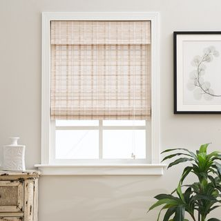 overstock roman shades chicology petite rustique bamboo 54inch long roman shade overstockcom shopping the best deals on blinds shades