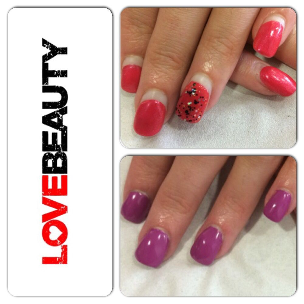 Acrylic infills after 3 weeks of having them done all refreshed and ...