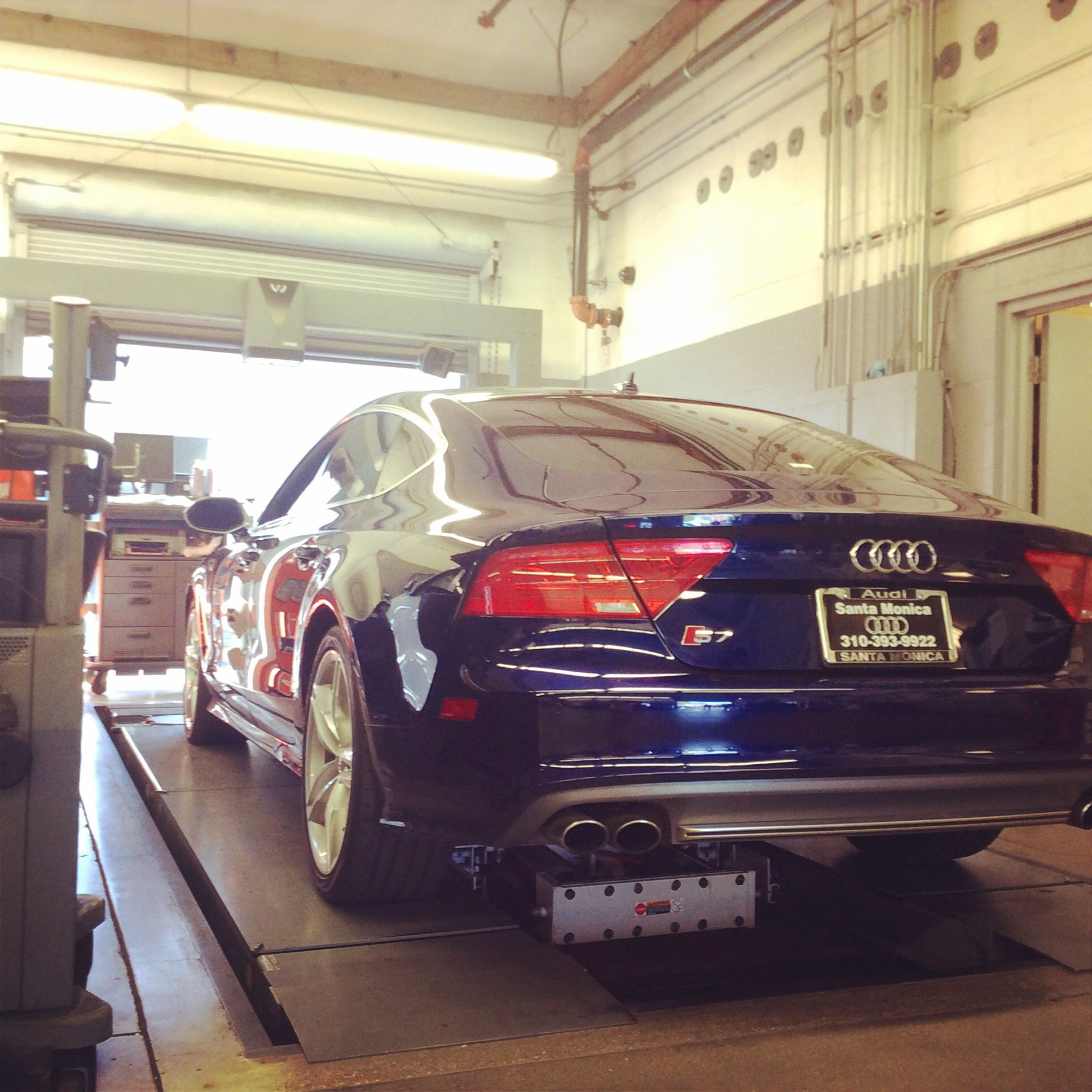 look who stopped by for a visit audi s7 santamonicaaudi smaudi