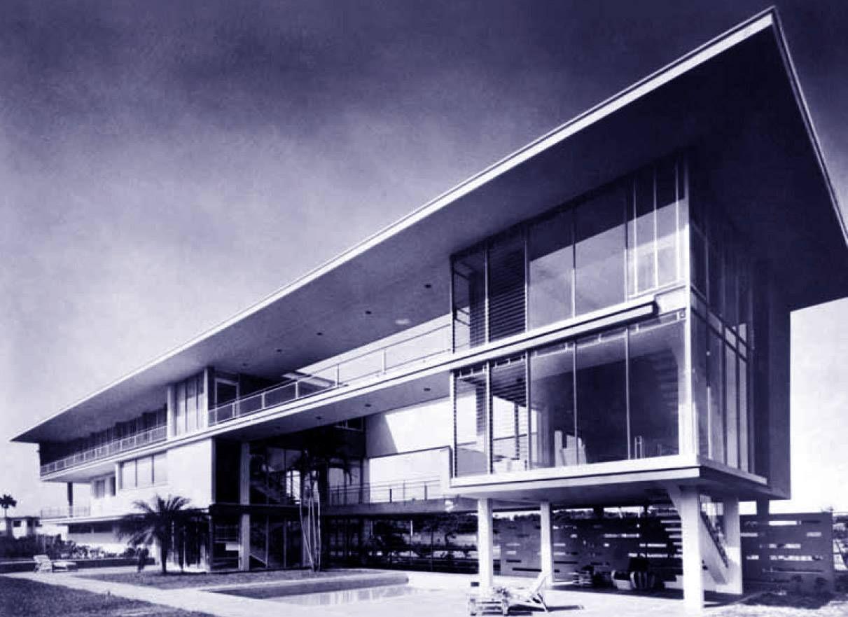 Casa noval ciudad de la habana cuba 1949 mario roma ach for Archi in casa moderna
