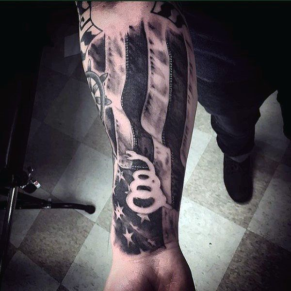 54e9f848d5103 100 Forearm Sleeve Tattoo Designs For Men - Manly Ink Ideas | tats ...